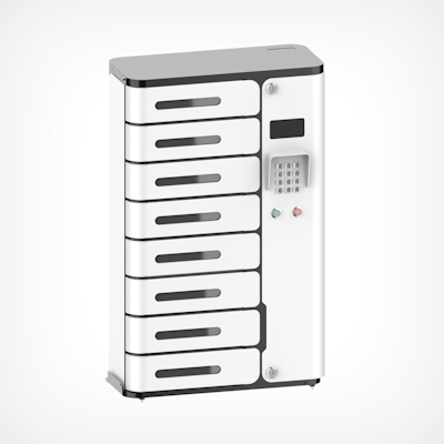 Picture of Charging Locker, 8 Chamber,  With UV-C