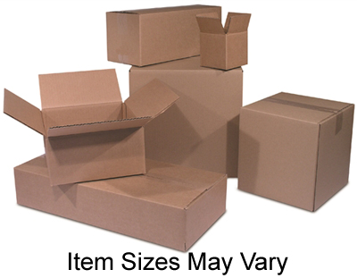 12x10x10 Corrugated Shipping Boxes 25//pk