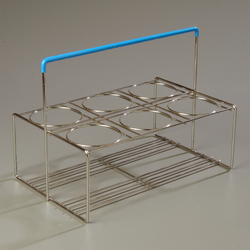 Picture of Portable Carrier/Dispenser,  6-Compartment, Perma-Sil